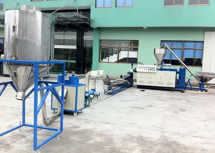 LD-SZ-65 Plastic PVC Conical Twin Screw Granulating Machine 34.7 r/min
