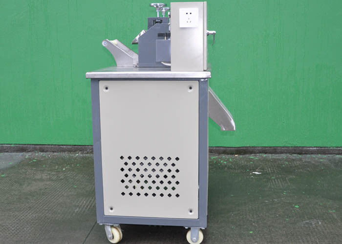 Alloy Steel Blades Plastic Cutting Machine Horizontal Granule Cutter Machinery PE PP