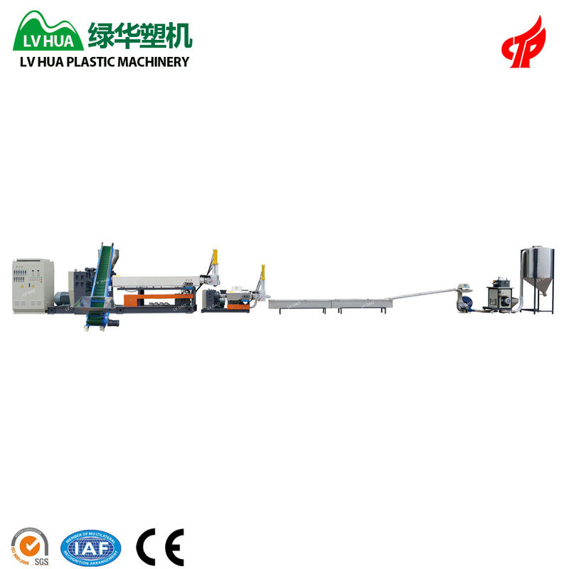 PP PE Hard Scrap Plastic Reprocess Machine Durable Customized Voltage